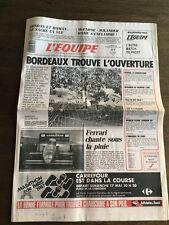 Journal l'équipe - 16 17 Mai 1987 - 42 eme année - n 12758