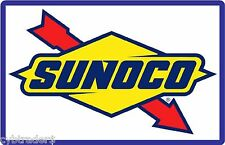 Sunoco Gas Station  Sign Refrigerator / Tool Box Magnet Man Cave