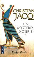 Livre de poche les mystères d'Osiris tome 1  Christian Jacq  book