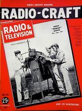 ARMY MOBLE RADIO - Craft Magazine 1941 WORLD WAR II editor HUGO GERNSBACK