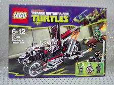 Lego 79101 Teenage Mutant Ninja Turtles Tortugas Ninja Shredder´s Dragon Bike.