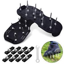 30x13cm Spikes Pair Lawn Garden Grass scarifier Aerator Aerating Sandals Shoes