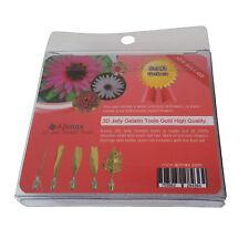 High Quality 3D Jelly Gelatin Tools Art Flowers Tools Gerbera (5pcs/Set #3)