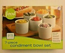 Food Network 7 piece condiment bowl set