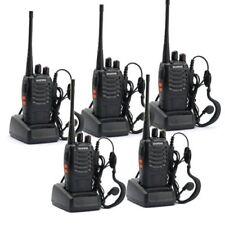 BAOFENG BF-888S UHF WALKIE TALKIES 400-470MHz RICETRASMITTENTE 5 PEZZI