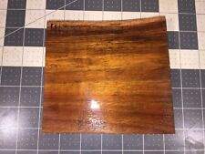 Hawaiian Curly Koa Board! Beautiful Color! 5 5/8� X 4 1/2� X 1� #4623