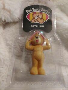 Rare Bad Taste Bears Johnny new Adult keychain