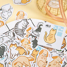 45pcs Friends Cats Dogs Stationery Stickers DIY Diary Album Gift Labels Decor EH