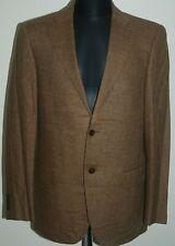 Zegna Jacket Valditaro Sartoria Wool Cashmere Coat Blazer Beige Brown 38 48 M
