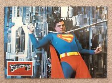SUPERMAN 3 III Original SCI-FI Lobby Card 8 CHRISTOPHER REEVE JACKIE COOPER