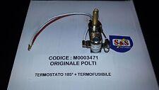 POLTI TERMOSTATO REGOLABILE + TERMOFUSIBILE FERRO DA STIRO ORIGINALE M0003471