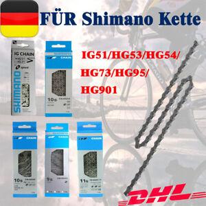 HG73/HG53 FÜR SHIMANO 9 Fach 116 Glieder Fahrradkette 9 Fach Mountainbike Kette