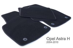Fußmatten passend für Opel Astra H Kombi GTC Caravan Velour Autoteppich 4x NEU