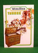 Original Wurlitzer Tarock Jukebox Brochure, Horn Player