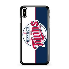 Minnesota Twins Baseball Hard Case Cover for iPhone 7 8 Plus X XR XS MAX