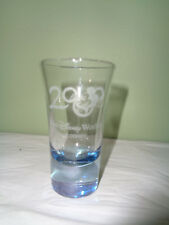 New Listing2000 Walt Disney World - Frosted - Mickey Mouse Shot Glass - Blue Tint