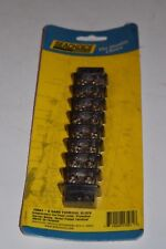 SeaChoice 8 Gang Terminal Block Nickel Plated Brass Contacts 30A @ 12V 13581