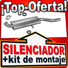 Silenciador Trasero AUDI COUPE 80 90 1.6TD 1.6 1.8 1.9 2.0 1979-91 Escape RRT