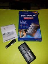 Chamberlain (new model) universal 3 button garage door opener remote 953EV-P2