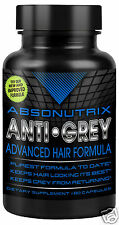 Absonutrix Anti Grey Hair Catalase Gray Saw Palmetto Promotes & Enhances
