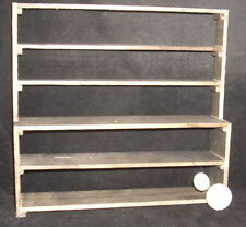 Dollhouse Miniature Mexican Weathered Shelf Shelves w Counter Store 1:12 #WO1950