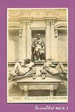CDV RELIGION :ITALIE, FLORENCE TOMBE DE JULIEN DE MÉDICIS PAR MICHEL ANGE Réf E1