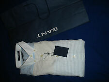 Gant Men's Fitted Shirt - Stripe - Size M  BNWT