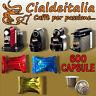600 capsule Caffe' Cialdeitalia compatibili NESPRESSO MISTE a SCELTA
