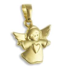 Anhänger Engel mit Herz-Schutzengel 333 Gold Taufe Muttertag Valentinstag Geburt