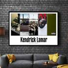 KENDRICK LAMAR Album Cover Collection Paper Posters or Canvas Framed Print Art