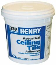 1 Gal Acoustical Ceiling Tile Adhesive Wall Panel Drywall Particle Board Molding
