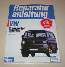 Reparaturanleitung VW Bus Transporter T3 Wasserboxer - ab 1985 !