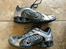 Nike Womens Shox Navina - 356918 005 - Black / Metallic Pewter - White Sz: 9.5