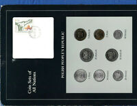 Coin Sets of All Nations Poland 1975-1985 UNC 2 Zloty 1977 10,20 Zlotych 1985