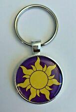 Key Chain Mickey Disney Rapunzel Tangled Sun Purple Punzie Yellow Best Day Ever