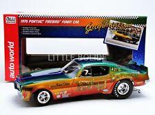 AUTO WORLD 1/18 PONTIAC Firebird Funny Car - Don Gay 1970 AW206