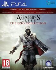ASSASSIN's Creed Ezio la Collezione PS4 * NUOVO SIGILLATO PAL *