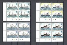 "FALKLAND ISLANDS 1978 SG 33A/45A ""Without Imprint Date"" MNH Blocks of 4 Cat £72"