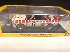 1/43 BMW CSL SPA MARABOUT 1973 SPARK MODEL SB RARE NEW MIB