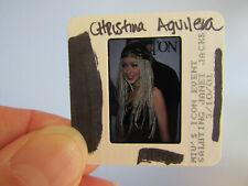 More details for original press photo slide negative - christina aguilera - 2001 - ac