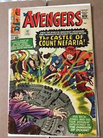 Marvel Comics The Avengers #13 1965