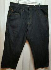 Rocawear mens jeans Size 42x27 Classic Regular Fit Denim RN#106830 A78