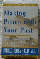 Making Peace With Your Past Cassettes Harold Bloomfield Harper Audio *New Sealed