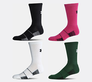 UNDER ARMOUR Mens UA Team Crew Socks | Various Colors | 1270242 / U456 | NWT