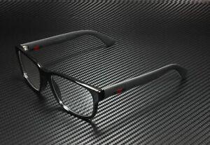 GUCCI GG0011O 001 Rectangular Square Black Demo Lens 53 mm Men's Eyeglasses