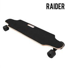 RAIDER Electric Skateboard Longboard Remote Control & Charger Black Long Board