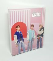 ENOi 1st Mini Album - [RED IN THE APPLE] CD+P.Book+Sticker+P.Card+Message+Post