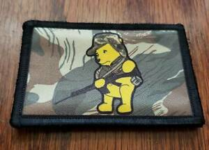 Rhodesian Camo POOH FAL Morale Patch Military Tactical Army Rhodesia Selous