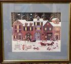 Charles Wysocki 1982 Print Christmas on Cape Cod