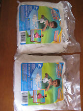 lot of 2 - Sands Alive! Moldable clay play sand white natural 2 x 2lb pack NEW